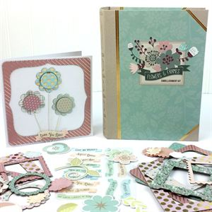 Picture of Flowers & Frames Embellishment Kit